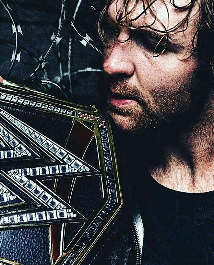 Dean Ambrose. Awwww damn, I love the stubble!