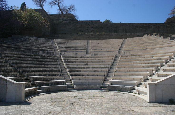 Αρχαίο Ωδείο Ρόδου - Acropolis of Rhodes Odeon