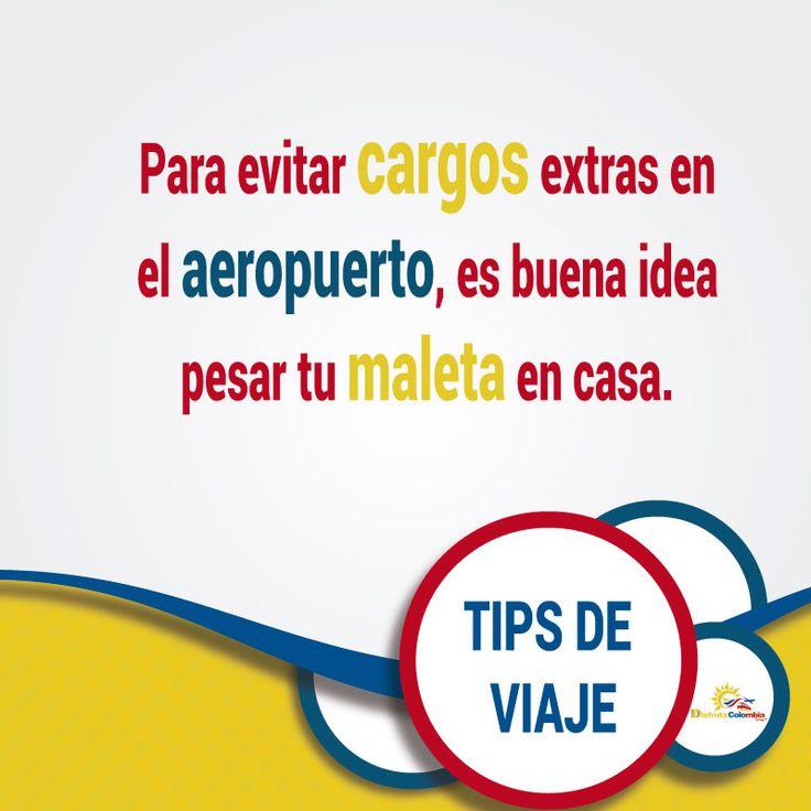 Sigue estos #tipsdeviajes #preparatumaleta con lo que consideres útil y evita recargos en el aeropuerto #turismo
