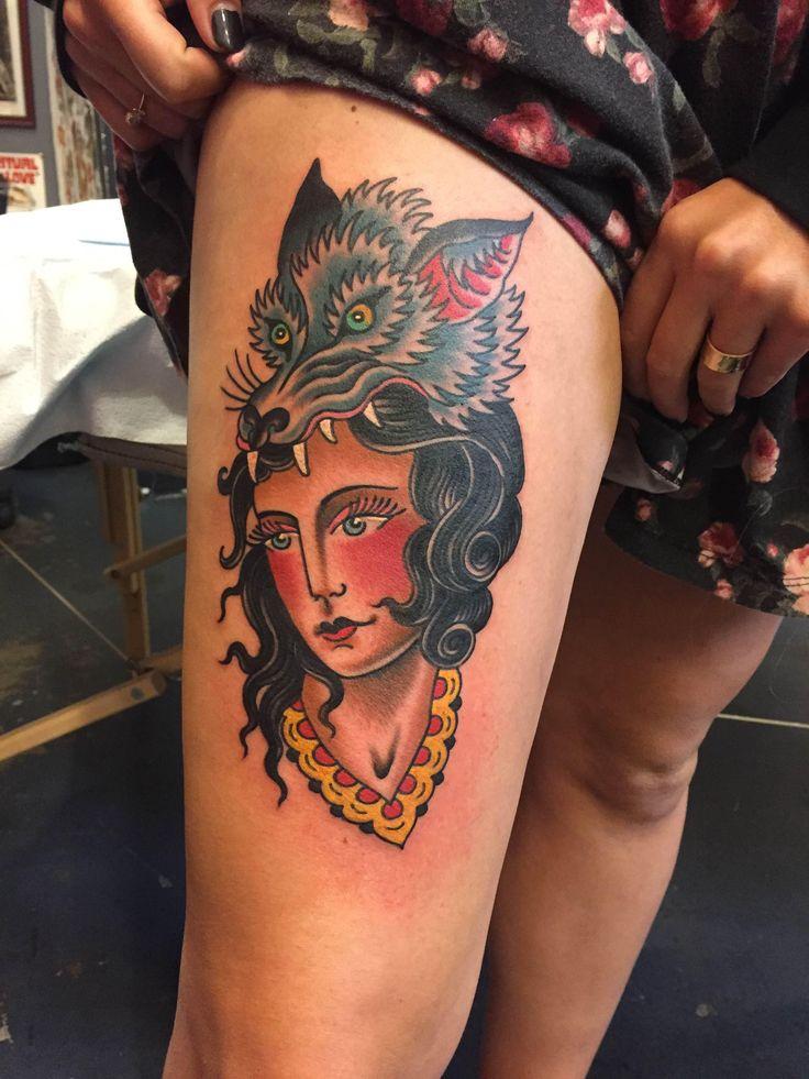 My newest tattoo done by the amazing Matt Cannon at Torch Tattoo - Anaheim, CA
