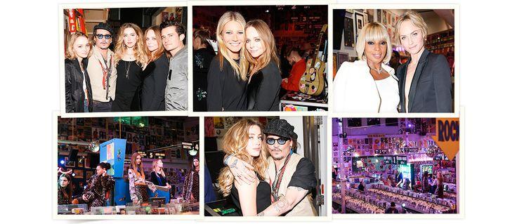 Le 12 janvier 2016 à Hollywood, Stella McCartney présentait sa pré-collection automne-hiver 2016-2017 au record store Amoeba Music. Rendant hommage à la scène musicale locale, la collection s'est suivie d'une after party haute en couleur réunissant Lily-Rose et Johnny Depp, Marilyn Manson, Amber Heard, Orlando Bloom… Revue en images.