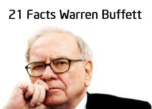 Warren Buffett is stock guru and most successful investor of 20th century. Warren buffett is 3rd richest person of the world. 21 Facts about Warren Buffett.