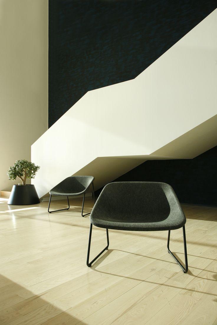 Kola Lounge chairs (design Mikko Laakkonen)