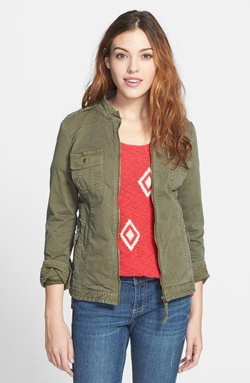 Lucky Brand Military Field Jacket available at #Nordstrom