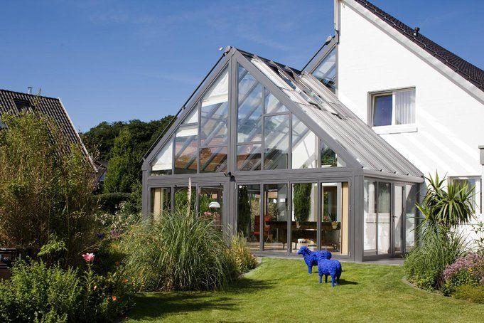 Wintergarten von solarlux h user pinterest haus - Wintergarten ffb ...