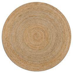 Tapis rond Hempy, diamètre 160 cm