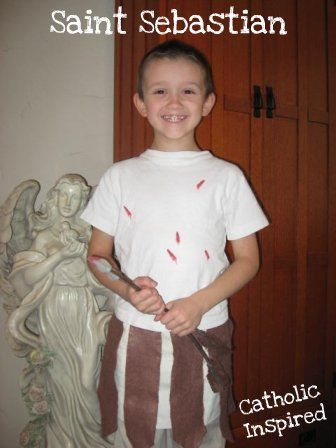St Sebastian ~ Costume - All Saints Day