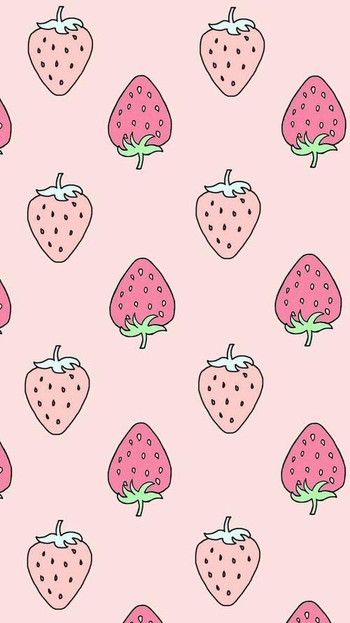 kawaii strawberry wallpaper vintage - photo #19