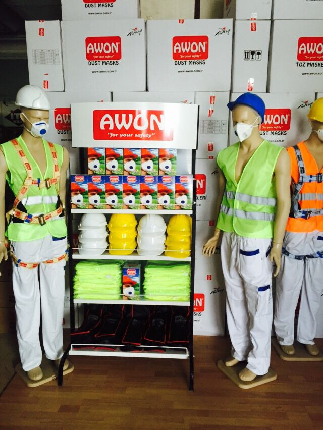 Awon product stand