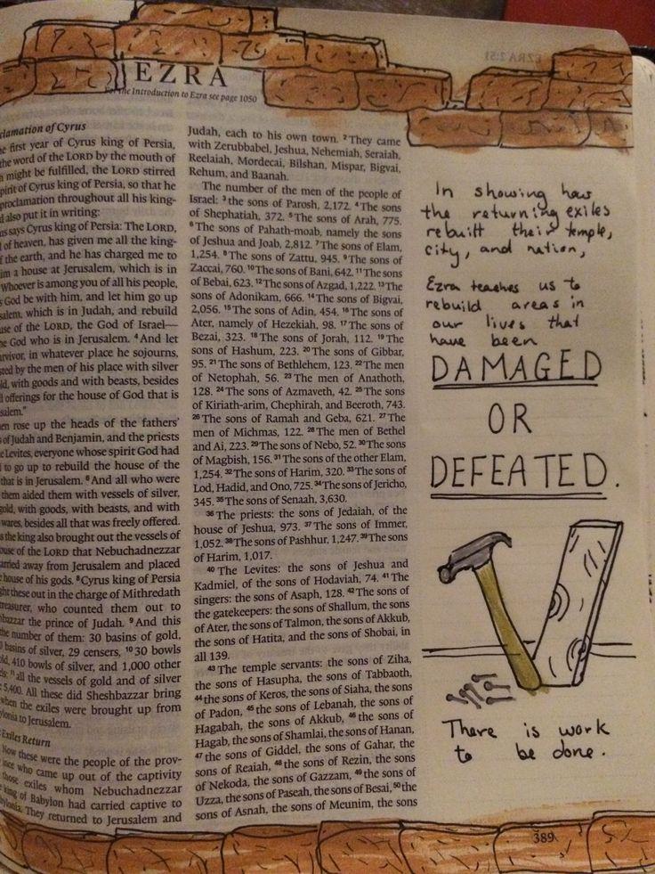 Ezra Bible Journaling