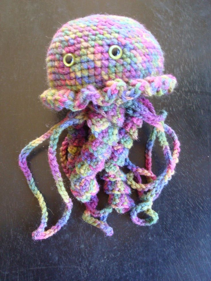 Onigiri Amigurumi Pattern Free : 17 beste afbeeldingen over amigurumi jellyfish and octopus ...