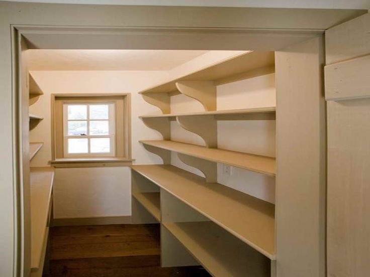 Pantry Shelving Plans And Design Ideas With Empty Home Pantry Pinterest Pantry Shelving