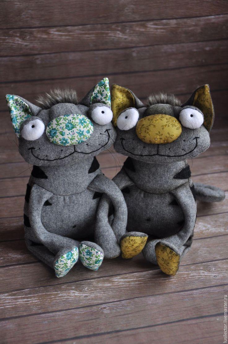 Купить Барсик №2 - серый, кот, котик, котенок, коты, коты и кошки, котики
