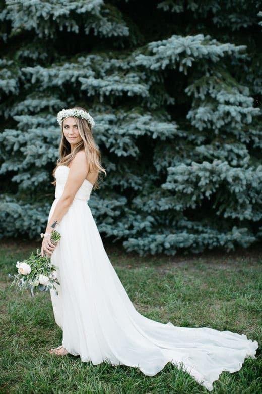 Rustic Bride Wedding Dress