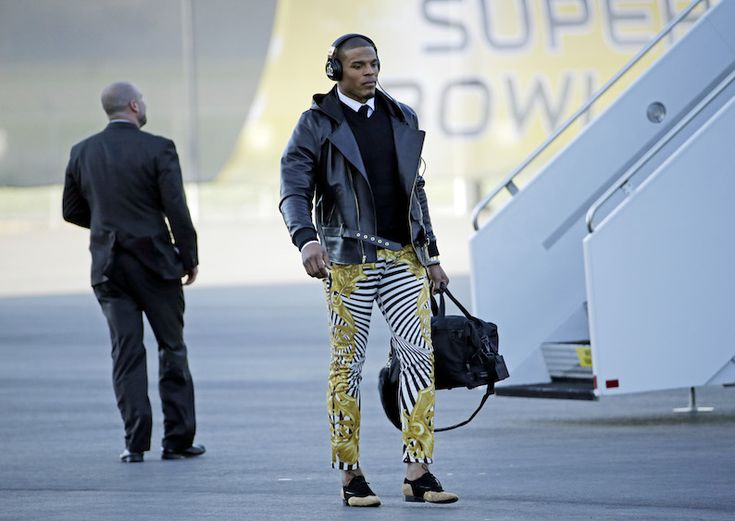 Hit or Miss? Cam Newton's Versace Pants