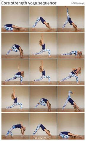 Strengthen your core, free your hips, work on your balance and open your heart i… – ElisaZunder | Beauty, Inner Beauty, Achtsamkeit, Travel + Wellness