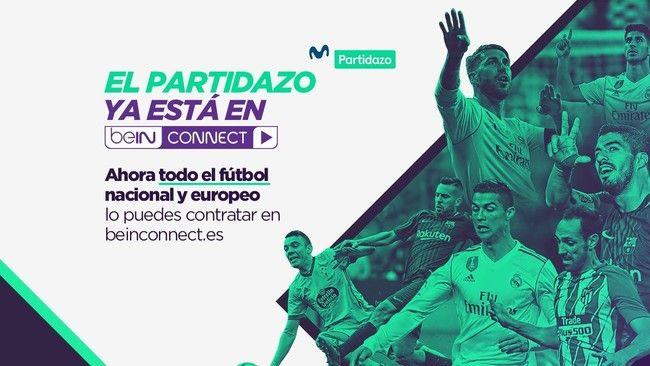 BeIN Connect ofrecerá a partir de enero un nuevo canal de fútbol al hacerse con Movistar Partidazo