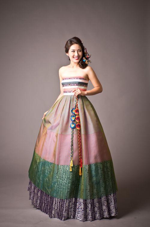 hanbok korean traditional wedding dress - Google Search