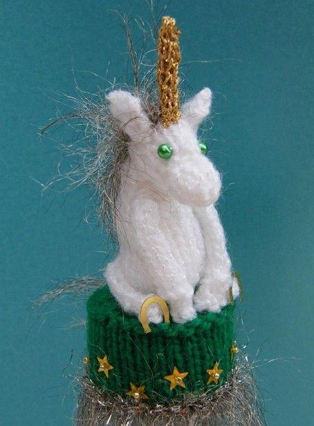 knit a unicorn pattern knitting pinterest how to