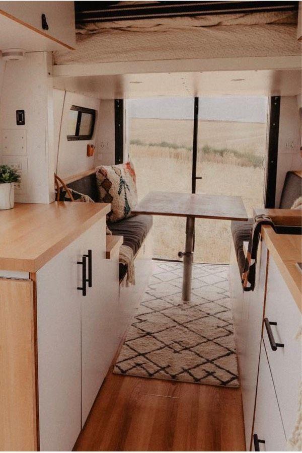 23 Amazing Van Life Interior Ideas For Inspiration Van