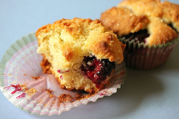 Lemon Blackberry Ricotta Muffins | Sweet Poison | Pinterest