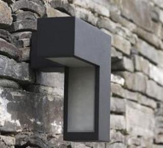 Faretto led esterno a parete 5 8w luci led da esterno - Antifurto giardino ...