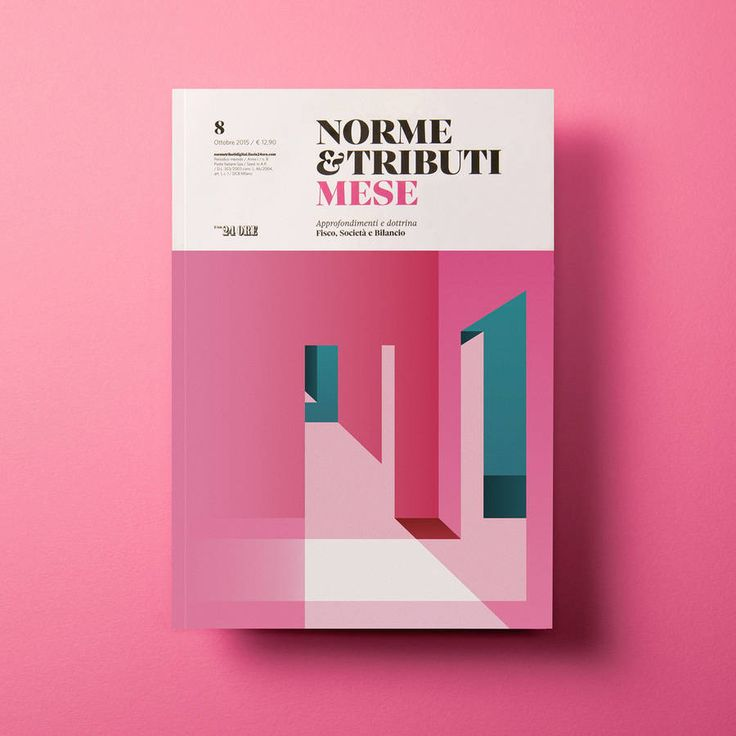 Cover Design for Italian Economic Revue Designer Ray Oranges, based in Florence, in behind a new series of creations to illustrate the cover of the Italian economic and financial revue Norme e Tributi MESE Il Sole 24 Ore. Colorful artworks with geometric aspects for every monthly publication.