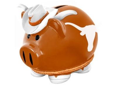 Texas Longhorns Thematic Piggy Bank NCAA