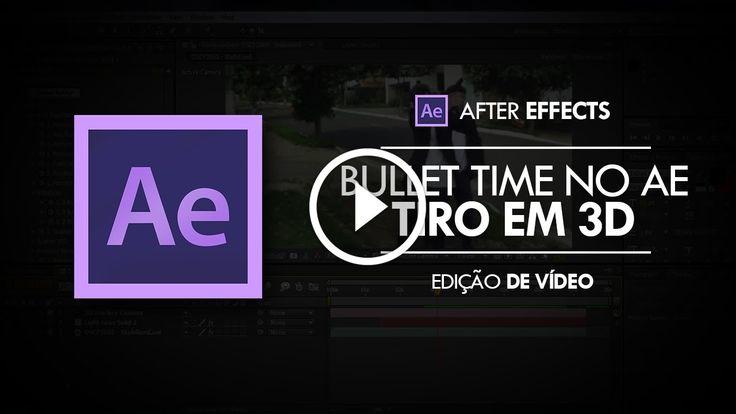 """Tutorial After Effects: Efeito de Tiro em 3D - BULLET TIME                                           Confira 50 DICAS E TRUQUES DE SONY VEGAS! ➨ http://www.youtube.com/watch?v=FGI8zHIdTrY -~-~~-~~~-~~-~- Aprenda a criar o efeitos de tiro em 3D presente no curta """"Pen Drive: Transferência de Risco"""" usando o Adobe After Effects. ▼ LINKS..."""