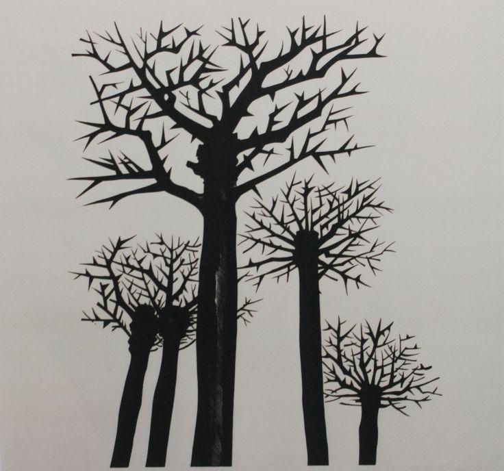 Дмитрий Бисти «Эйжен Веверис «Сажайте розы в проклятую землю». Иллюстрация» 1977