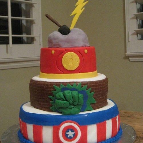 avengers birthday cake ideas   ... birthday tagged with avengers birthday invitations avengers birthday