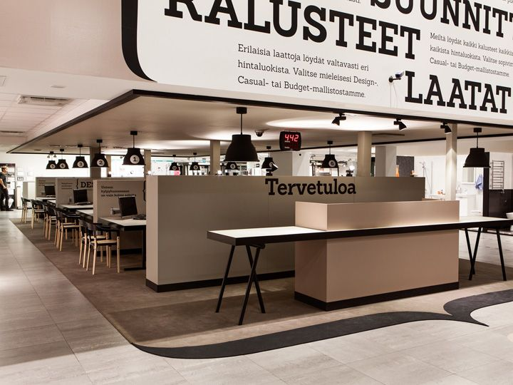 Laattapiste store by Bond store design
