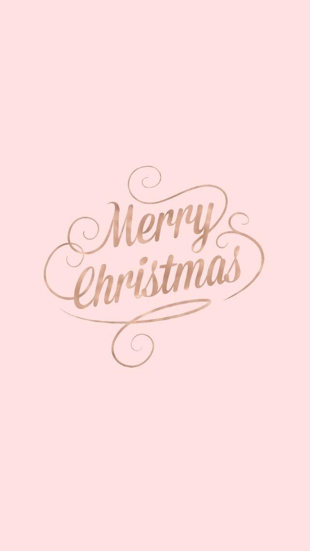 Rose Gold Christmas Lockscreens Lockscreens Christmas Phone Wallpaper Cute Christmas Wallpaper Wallpaper Iphone Christmas