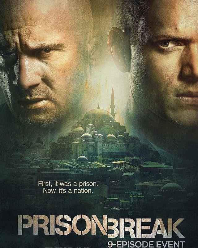NEW PRISON BREAK POSTER #prisonbreak5 #michaelscofield #lincolnburrows