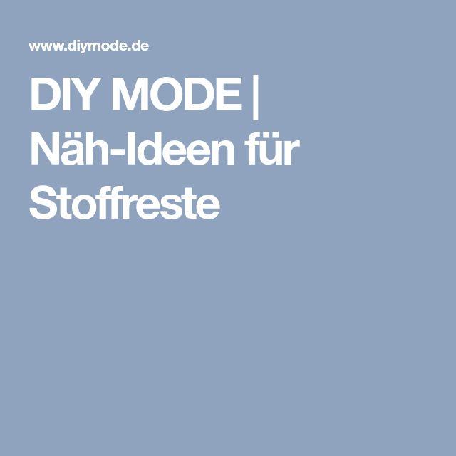 DIY MODE | Näh-Ideen für Stoffreste