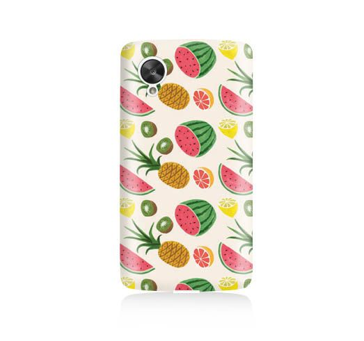 Tropical Fruit is available for Nexus 5    Our cases precision-engineered to be the one of the lightest weight cases on the market. This Snap case