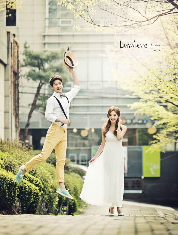 Korea wedding studio has a great photography ans lighting skill for Korea pre wedding photo