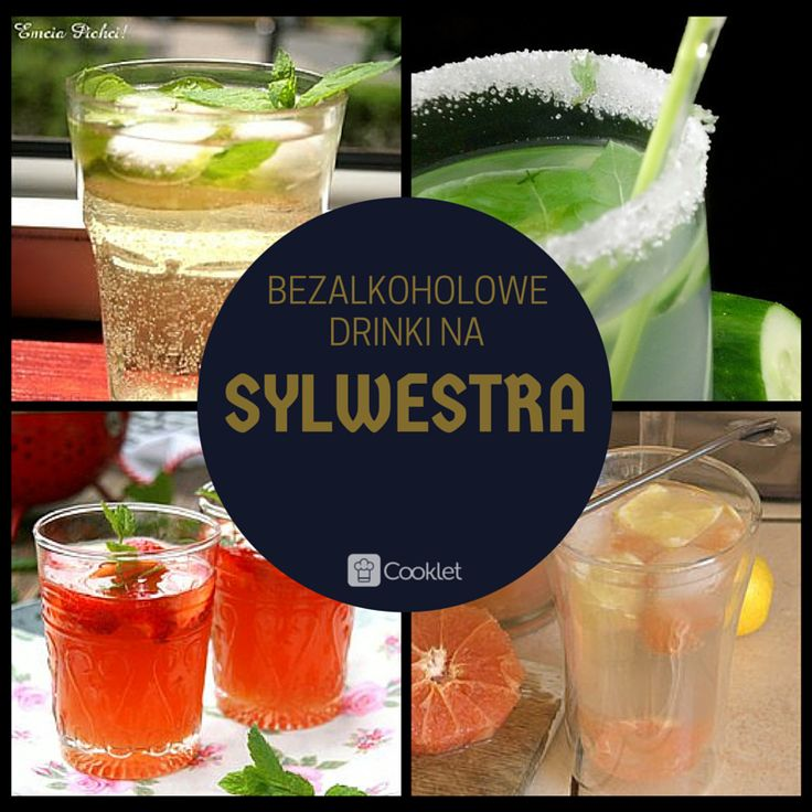 1) Bezalkoholowe mohito  http://cooklet.com/pl/przepis/4278/bezalkoholowe-mohito  2) Miętowy relaks  http://cooklet.com/pl/przepis/365/mietowy-relaks  3) Red Ice Tea  http://cooklet.com/pl/przepis/4681/red-ice-tea  4) Grejpfrulada http://cooklet.com/pl/przepis/3526/grejpfrulada