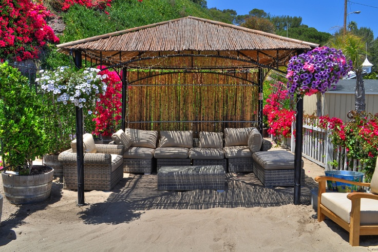 Paradise Cove in Malibu...cabanas for rent