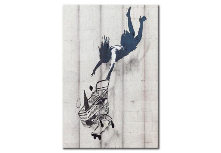 Obras de Banksy en la nueva versión – como un cartel de chapa #banksy #carteldechapa #impresionenmetal #impresionenchapa #streetart #carteldemetal #cartelmetal #cartelchapa