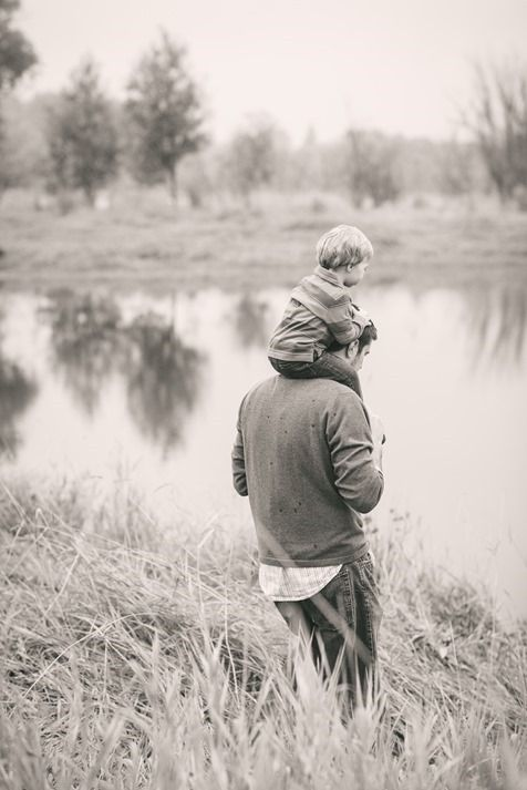 A father is essential to a boy's life. Fatherhood is a huge responsability and gift to take seriously.