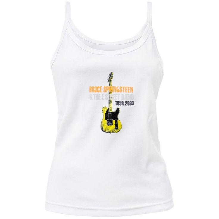 Bruce Springsteen - Guitar 03 Tour Juniors Tank Top