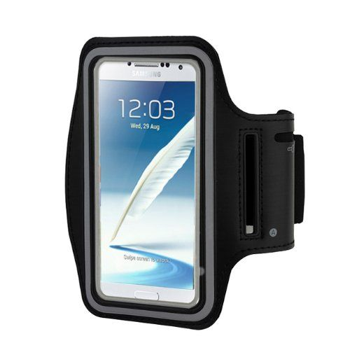 Baakyeek Sports Running Gym Armband Case for Samsung Galaxy Note 2, Samsung Galaxy Note 3. sports armband for samsung galaxy note 3 note 2.