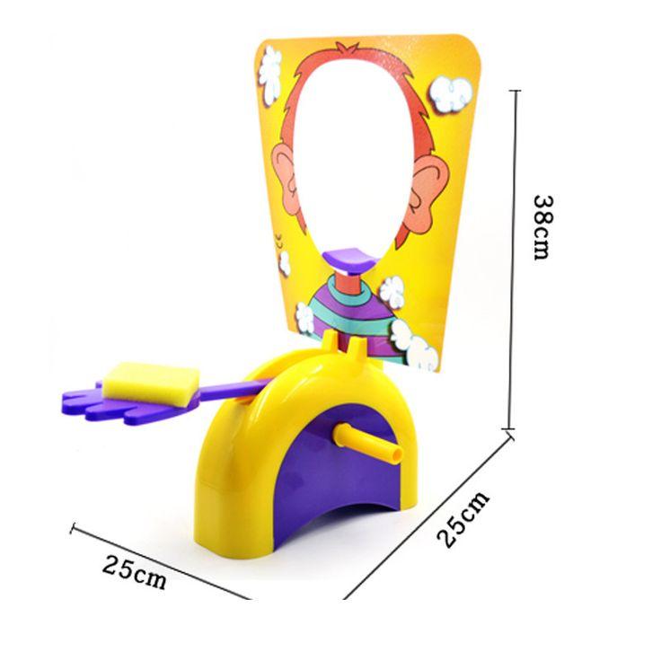 楽しいかわいいショッカーガジェットクリームパイ顔に家族親子いたずらジョークゲーム抗ストレス子供のおもちゃ誕生日ゲームギフト