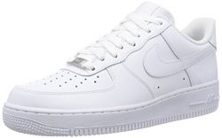 Nike Mens Air Force 1 Low 07 Basketball Shoes Anthracite/White 315122-067 Size 10