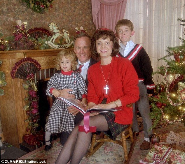 Family: Her parents were the primary suspects in the case for over a decade, but were finally cleared in 2008, two years after Patsy Ramsey died of ovarian cancer (JonBenet, John, Patsy and Burke in their 1993 Christmas photo)
