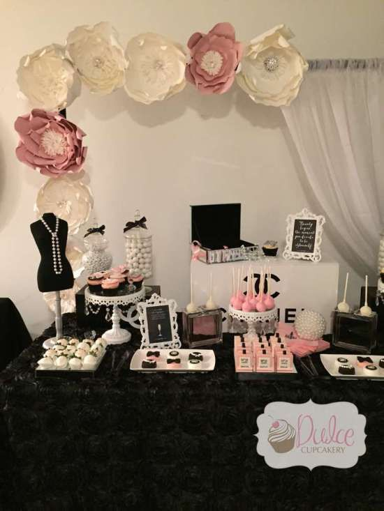 17 best images about chanel paris theme party ideas on for 35th birthday decoration ideas