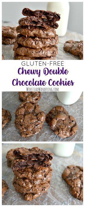 Gluten-Free Double Chocolate Cookies