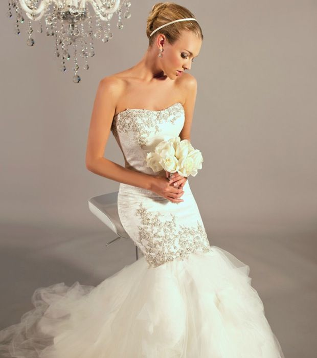 Graceful and Sophisticated Wedding Dresses by Winnie Couture - MODwedding