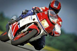 Yamaha RD500LC, GP Replica Actions !